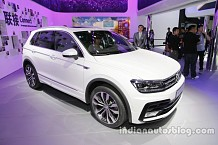 2016 Volkswagen Tiguan Displayed at the Beijing Motor Show