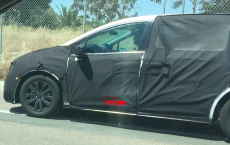 Fifth Generation Honda Odyssey Testing Spotted ahead of its Debut