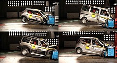 Major Indian Cars score Zero Rating in Global NCAP Crash Test