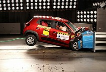 Renault Kwid Hatchback Failed in Global NCAP Crash Test