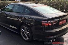 Next Stage of Audi A5 Sportback Spied; Seems Ready for Launch