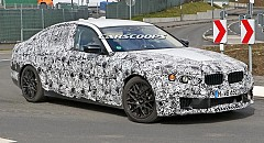 2017 BMW M5 Caught on Camera