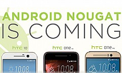 Latest Android 7.0 Nougat To Roll Out In Top Three HTC Smartphones