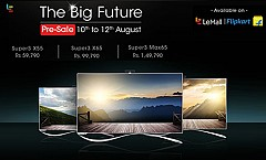 LeEco Starts Independence Day Sale Pre-booking For Upcoming Smart TVs
