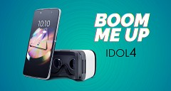 Alcatel Idol 4 Unveiled in The Country With VR Headset Priced at Rs 16,999