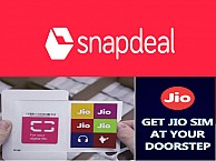 Reliance Jio And Snapdeal Join Hands For Jio SIM Home Delivery Service