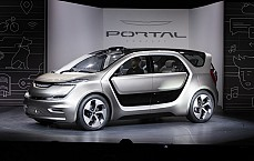 CES 2017: Chrysler Portal All Electric Autonomous Concept Unveiled
