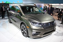 NAIAS 2017: Fifth-Gen Honda Odyssey Unveiled