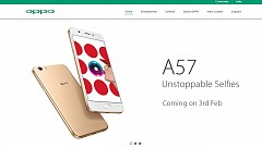 Oppo A57 Confirmed to Launch on February 3 in India