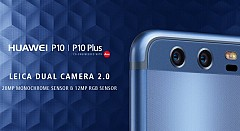 Huawei P10, P10 Plus Smartphones With Dual Rear Leica Cameras Launched At MWC 2017