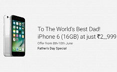 iPhone 6 For Your Dad: Flipkart Up With Mysterious Discount On Father's Day