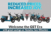 Yamaha India Releases Post GST Prices; Showcases Marginal Drop