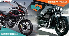 Bajaj Auto, Triumph Motorcycles Announce Global Alliance