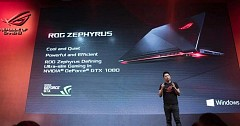 Asus ROG Zephyrus Gaming Laptop Launched, Price, Specs