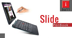 iBall Launches Slide PenBook With Windows 10 2-In-1 In India