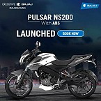 Bajaj Pulsar NS200 With ABS Launched In India Priced INR 1.09 Lakh