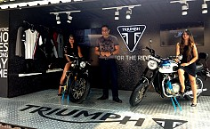 Triumph Motorcycles Presents First Mobile Dealerships For Tier II, III Indian Cities