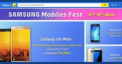 Flipkart Ongoing Samsung Mobiles Fest Offers‎ Mobiles At Heavy Discounts: Know The offers