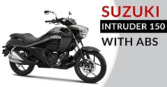 Suzuki Intruder 150 With ABS Launched In India