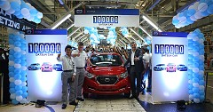 Datsun India Attains Astonishing 1,00,000 Units Production Milestone