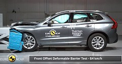 2017 Volvo XC60 Gets Five-Star Safety Ratings in Euro NCAP Tests
