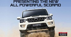 2017 Mahindra Scorpio Facelift Launched, Price Starts at INR 9.97 Lakh