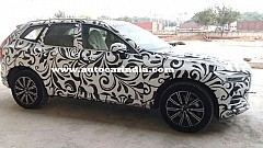 2018 Volvo XC60 SUV Spotted in India, Launch by December 2017