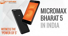 Micromax Bharat 5 Launched In India With 5000mAh Battery