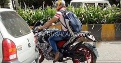 2018 Bajaj Pulsar RS 200 Spied In A New Colour Paint