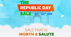 Flipkart Announced Republic Day Sale Just After the Announcement of Amazon Sale