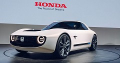 Honda Exhibited its Old School Sports Car Concept at Auto Expo 2018