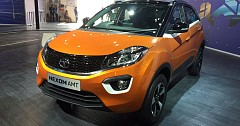 Auto Expo 2018: AMT enabled TATA Nexon showcased