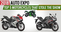 2018 Auto Expo: Top 5 Motorcycles That Stole the Show