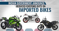 Indian Government Announces Reduced Customs Duty on Imported Bikes