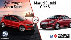 Volkswagen Silently Introduces Vento Sport to Compete with Maruti Suzuki Ciaz S