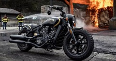 Indian Motorcycle Jack Daniel Collaboratively Unveils Special Edition Scout Bobber