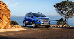 Latest Ford EcoSport Titanium+ Petrol Variant Now At Sale Costing 10.47 Lakh