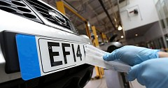 New Cars Will Get Factory Fitted Number Plates