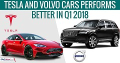 Tesla And Volvo Cars Performs Better in Q1 2018
