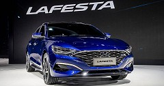 Beijing Motor Show: Hyundai Unveils The Lafesta, A Four Door Luxury Sedan