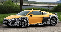 Audi R8 Facelift Under Production Spotted While Testing