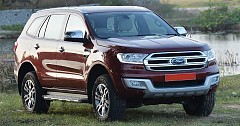 India-Bound Ford Endeavour Facelift To Launch in 2019 Starting