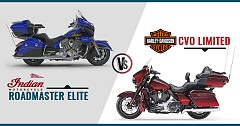 Indian Roadmaster Elite Vs Harley Davidson CVO Limited: Luxury Touring Motorcycles Rivalry