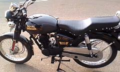 Royal Indian BLOT100, A Certain 100cc Motorcycle Customized into Royal Enfield Bullet