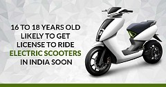 16 to 18 Years Old Likely to Get License to Ride Electric Scooters in India Soon: Read More!
