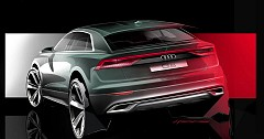 Audi Q8 Teases Out In A Design Sketch