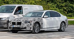 The Nurburgring Spies: New CLAR Platform for BMW 7 Series Facelift Leaked