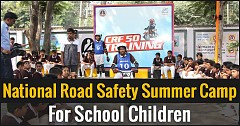 HMSI Kicks Off National Road Safety Summer Camp For School Children
