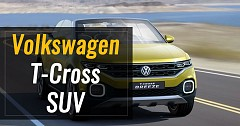 Confirmed! Volkswagen T-Cross Compact SUV Will Launch In India