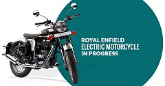 Royal Enfield Electric Motorcycle is Under Development in the UK